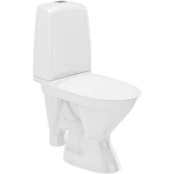 Toalettstol Ifö Spira Rimfree 627008811 med mjuksits