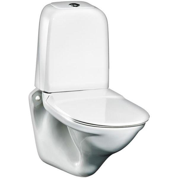 Gustavsberg Nordic 339 ROT Toalettstol vit