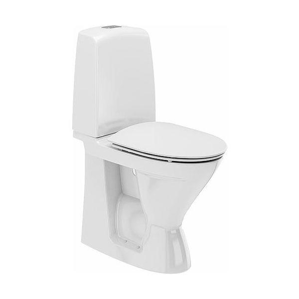 Ifö Spira 626109311010 Toalettstol hög med hårdsits soft-close för limnin