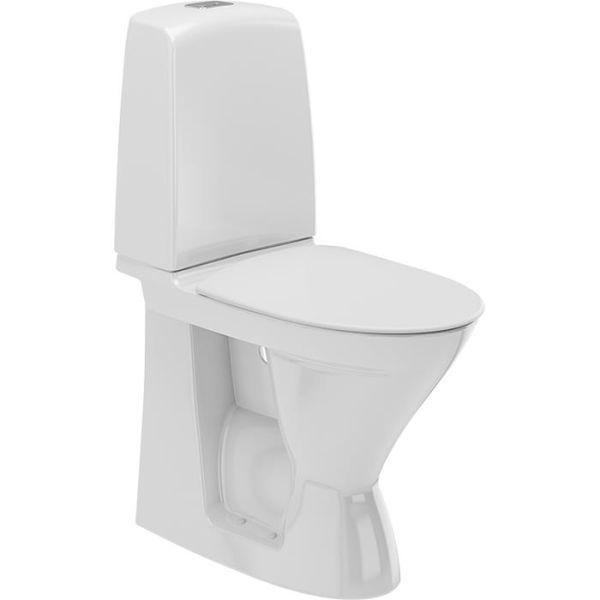 Toalettstol Ifö Spira 626108811 hög, med mjuksits