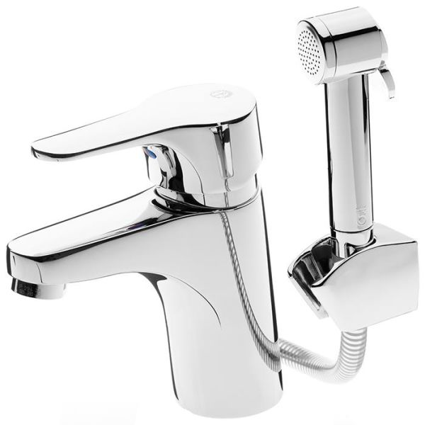 Gustavsberg Nautic GB41214141 Tvättställsblandare med handdusch och lyftventil