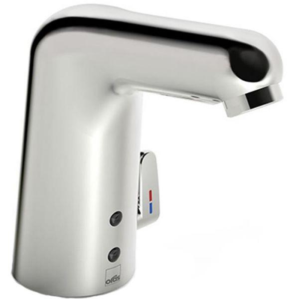 Tvättställsblandare Oras Medipro 5551F beröringsfri, batteridrift, Bluetooth