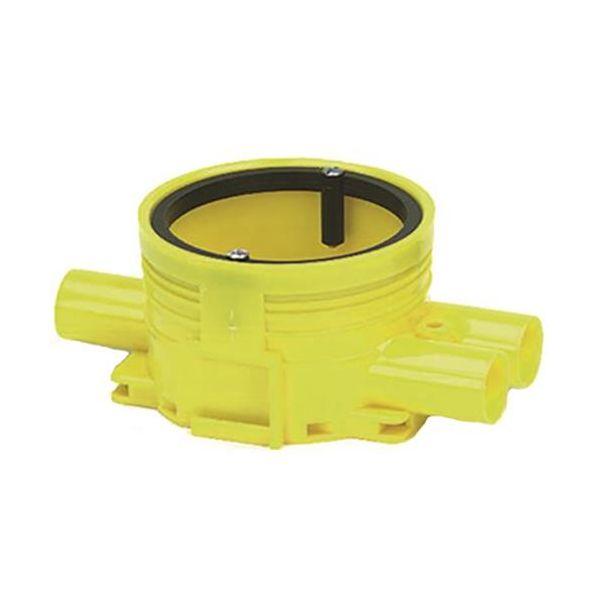 Kytkentärasia Ed-Wa 1426020-2 keltainen, kaksoiskipsi