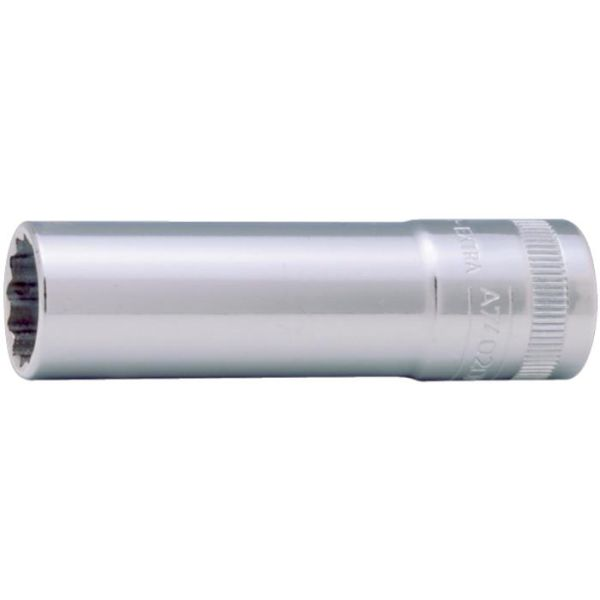 "Tolvkantpipe Bahco A7402DM-18 3/8"", lang modell 18 mm"