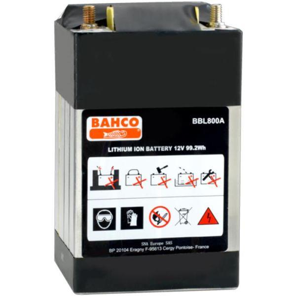 Starthjelpbatteri Bahco BBL800A 8 A, 12 V