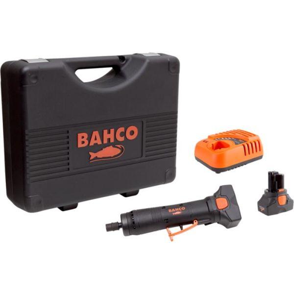 Slipemaskin Bahco BCL32DG1K1 med 2,0Ah-batterier og lader