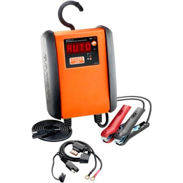 Batterilader Bahco BBCE12-6 6 A, for 12 V batterier