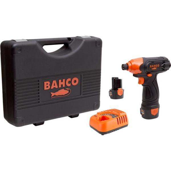 Slagskrutrekker Bahco BCL31IS1K1 med 2,0Ah-batterier og lader