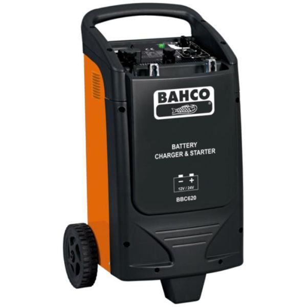 Starthjelp Bahco BBC620 med innebygd batterilader