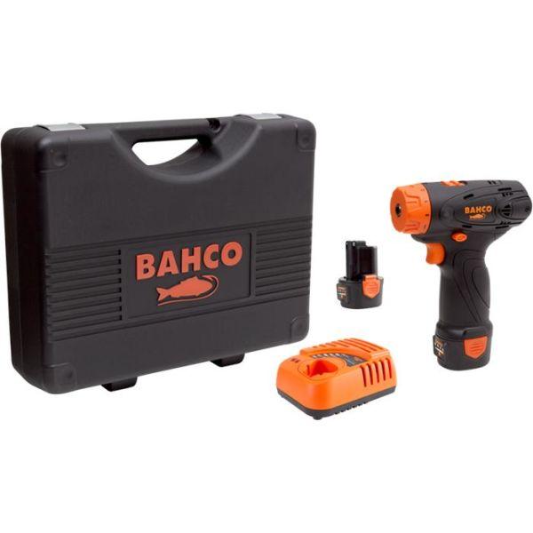 Skrutrekker Bahco BCL31SD1K1 med 2,0Ah-batterier og lader