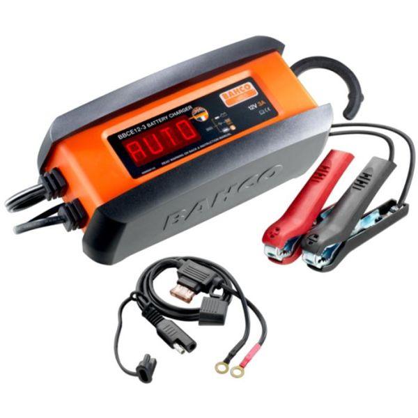 Batterilader Bahco BBCE12-3 3 A, for 12 V batterier