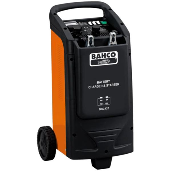 Starthjelp Bahco BBC420 med innebygd batterilader