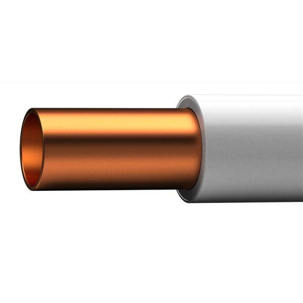 Kopparrör Cupori 140 plastisolerat, 22 x 1,0 mm, 25 m ring