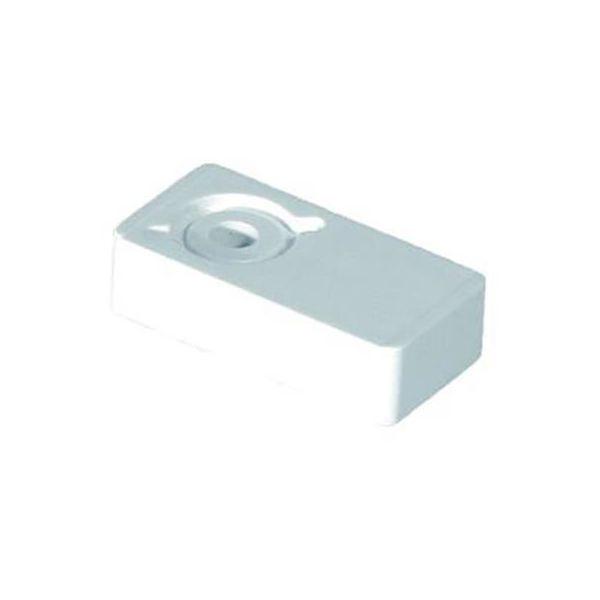 Distans Purus 3810691 enkel, för rör dy. 18-22 mm, vit
