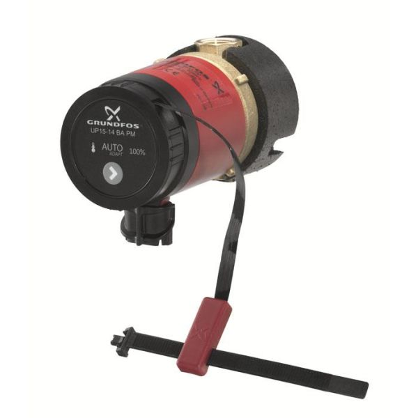 Tappvarmvattenpump Grundfos Comfort UP15-14BA PM med Autoadapt