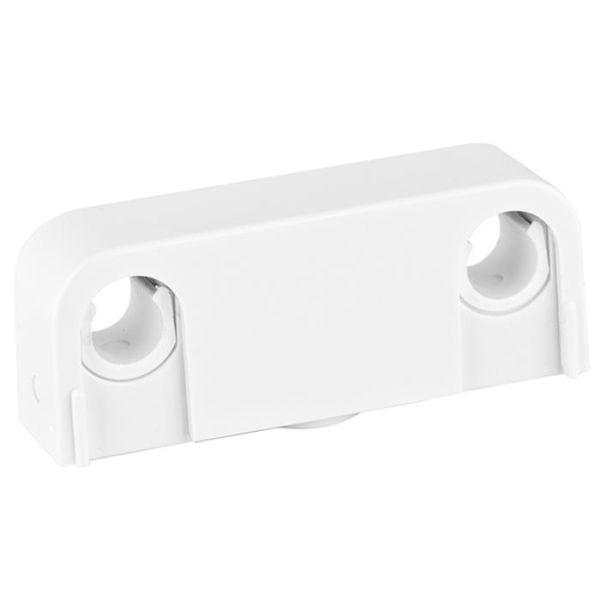 Rörklämma Faluplast Snap 14070 dubbel, 12/15/16 mm, vit