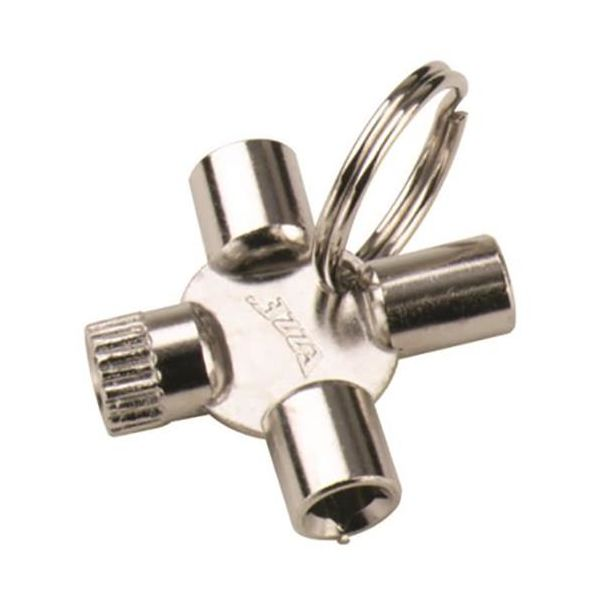 Nyckel Ezze 4841100 4-axlig, till luftningsventiler