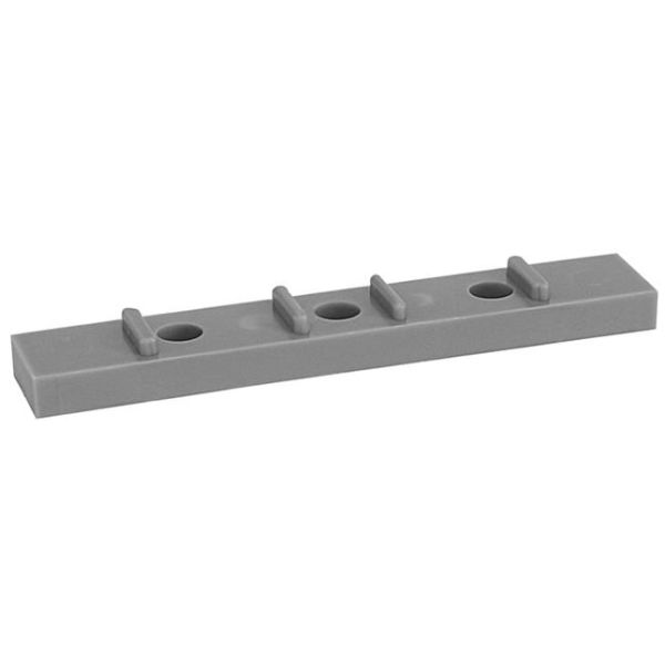 Distanskloss Faluplast 19411 för 110 mm enkelklämma, grå