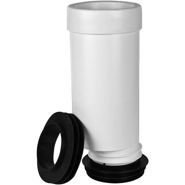 WC-anslutning Faluplast 2316849 110 x 310 mm, excentrisk