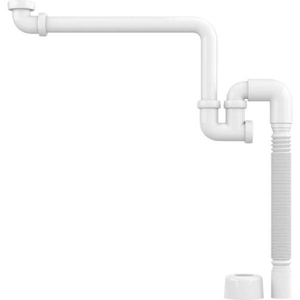 Kommodvattenlås Faluplast 8072038 40 x G40 x G32