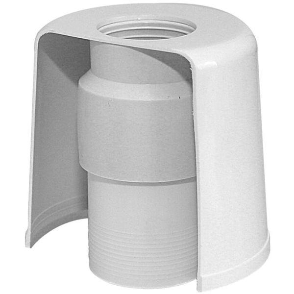 Golvvattenlås Faluplast 8073893 40 x 50 mm, för muff