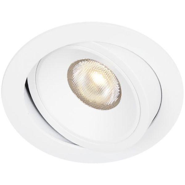 Hide-a-Lite Bright Eye G2 Tilt Downlight vit 3000 K