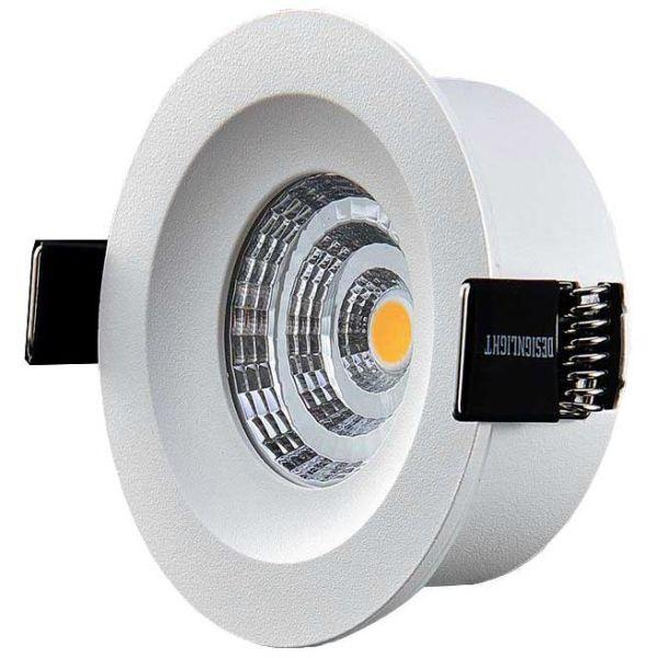 Downlight Designlight Q-4MW med drivdon, 2700 K, fast
