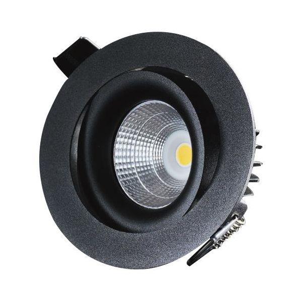 Downlight Designlight P-1602530B svart, 3000 K