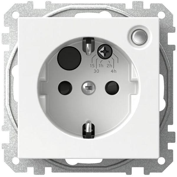 Timer Schneider Electric Exxact WDE002469 med integrerat 1-vägsuttag