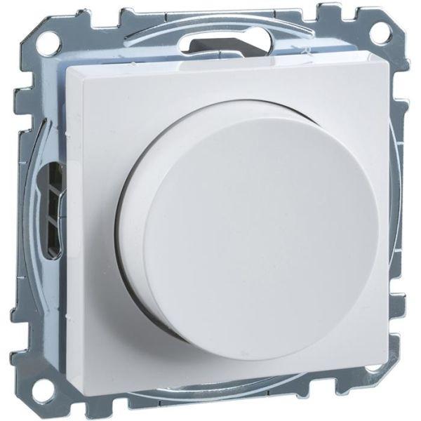 Dimmer Schneider Electric Exxact WDE002299 LED, 4–400 W, hvit
