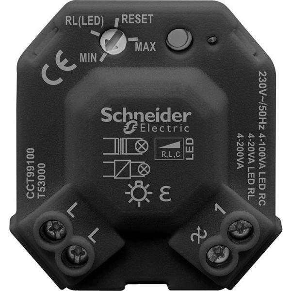 Dosdimmer Schneider Electric Exxact CCT99100 universal, 4-200 W