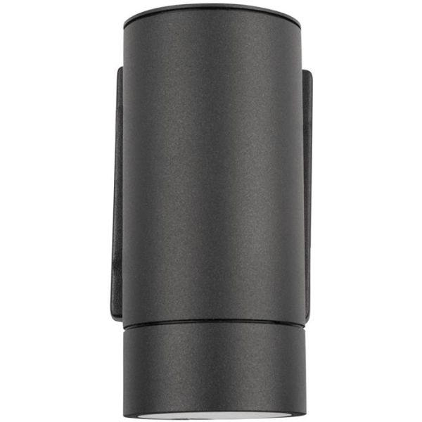Väggarmatur Hide-a-Lite Milo I GU10 IP55 Antracit