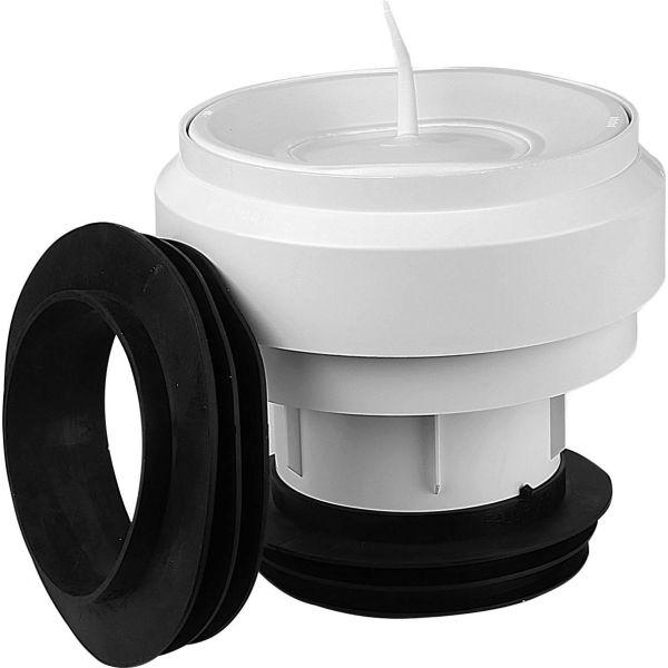 WC-anslutning Faluplast 2316848 110 mm Centrisk