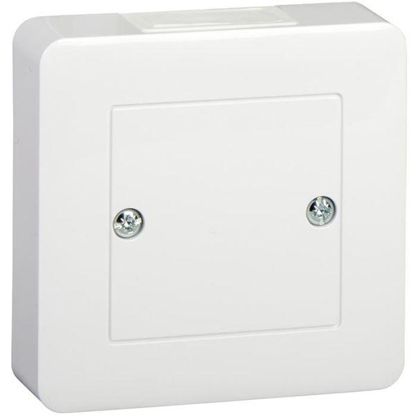 Liitäntärasia Schneider Electric Exxact WDE002318 valkoinen