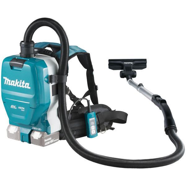 Dammsugare Makita DVC261ZX11 ryggburen, utan batteri och laddare