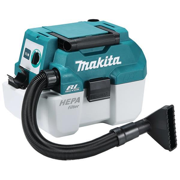 Dammsugare Makita DVC750LZ utan batteri och laddare