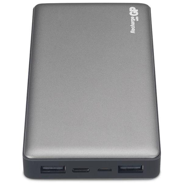 Powerbank GP Batteries Voyage 2.0 MP15MA 15 000 mAh, grafittgrå