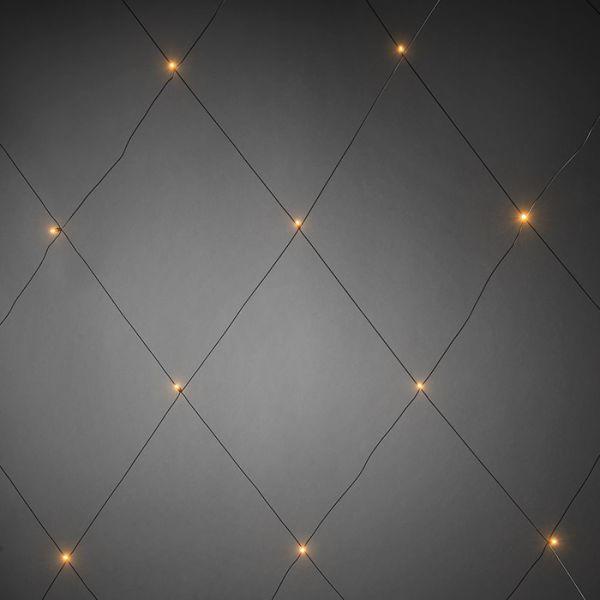 Lysnett Konstsmide 3749-800 64 lyspunkter, 2x2 m