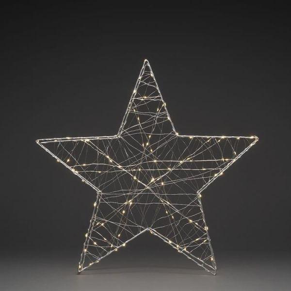 Julstjärna Konstsmide 1793-333 metall, 60 cm