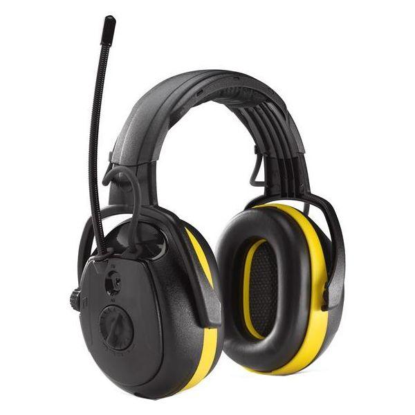 Hörselskydd Hellberg SECURE RELAX Radio, med hjässbygel