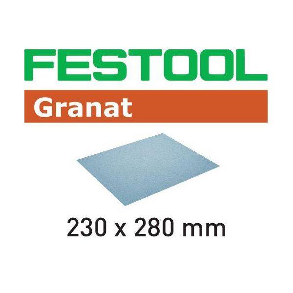 Slippapper Festool GR 230x280mm, 10-pack P240