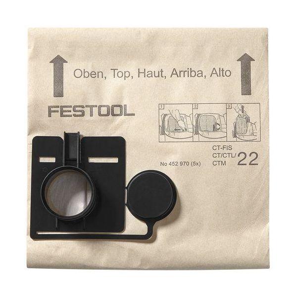 Filtersäck Festool FIS-CT 22/20 20 stycken
