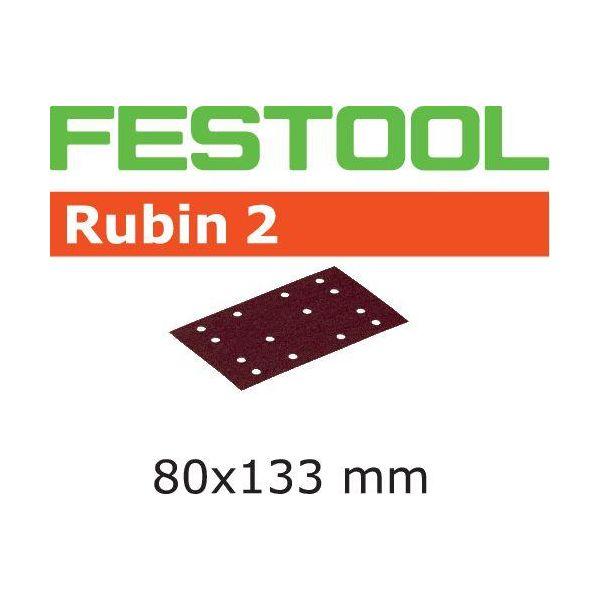 Festool STF RU2 Slippapper 80x133mm 10-pack P100