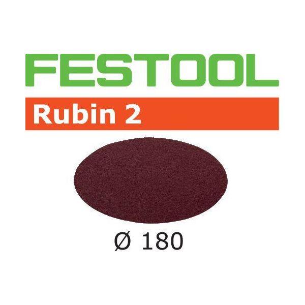 Festool STF RU2 Slippapper 180mm 50-pack P60