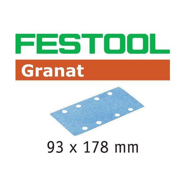 Festool STF P100 GR Slippapper 93X178mm 100-pack