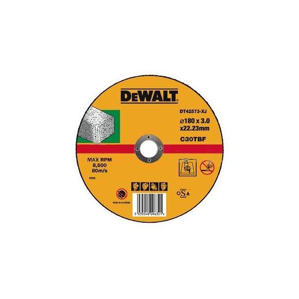 Dewalt Standard Kapskiva för sten och betong 180x3x22,2mm