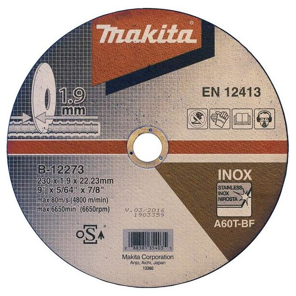 Katkaisulaikka Makita B-12273