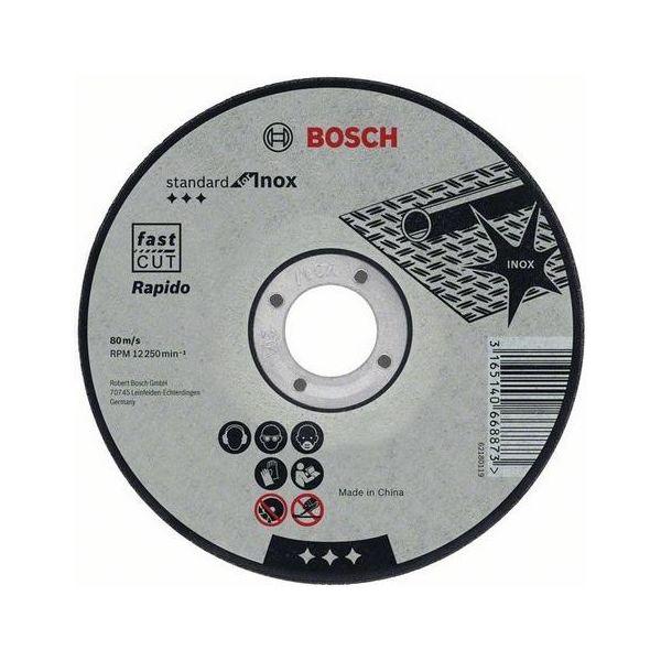 Katkaisulaikka Bosch Standard for Inox  115x1mm 1 kpl.