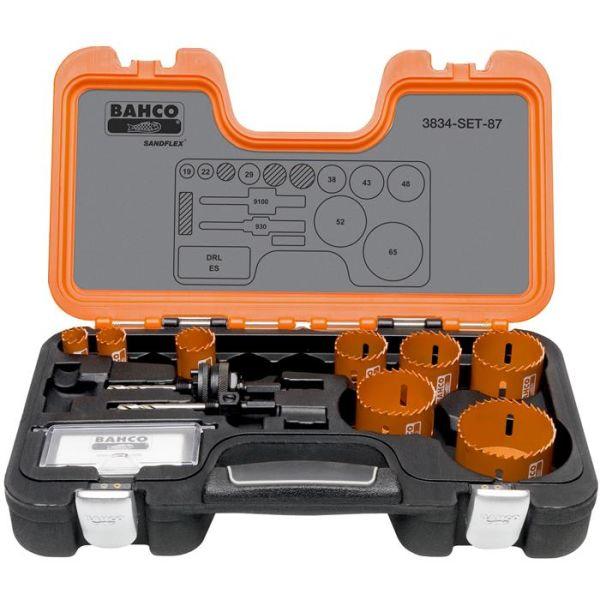 Hullsagsett Bahco 3834-SET-87