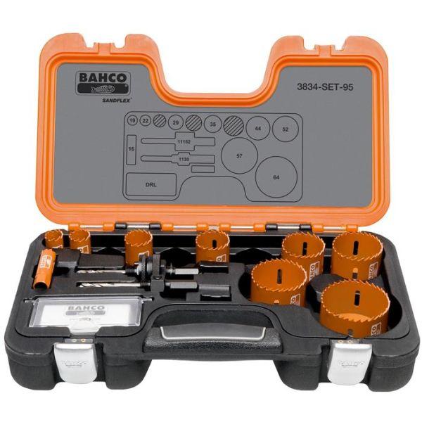 Hullsagsett Bahco 3834-SET-95